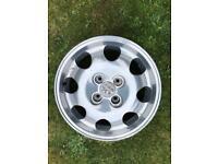 Peugeot alloy 205 wheels
