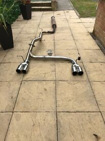 FORD FOCUS EXHAUST £250 cobra exhaust to fit mk2 Ford Focus.