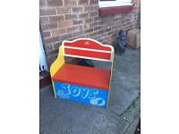 Kids cloth storage boxes and toybox .