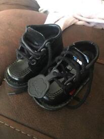 Black kickers size 5.5