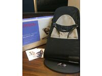 Baby Bjorn Bouncer, Balance Soft, Black/Grey Mesh. Excellent conditions.