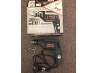 Drill & hammer £6