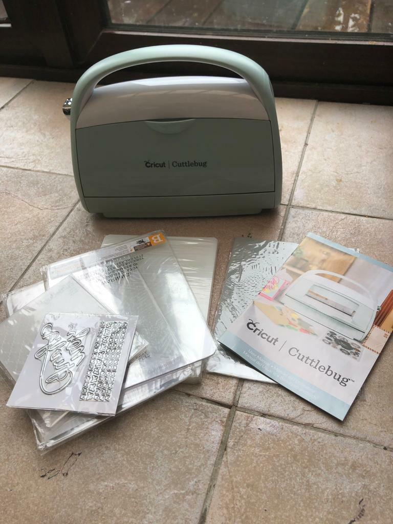 Brand new Cricut cuttlebug machine and accessories in excellent condition |  in Downend, Bristol | Gumtree
