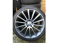 19inch rear alloy wheel