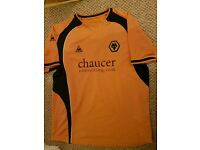 RETRO WOLVERHAMPTON WANDERERS JERSEYS (£10 EACH OR ALL 3 for £25!!)