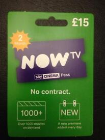 NOW TV 2 MONTHS CINEMA PASS