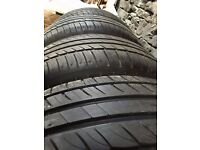 4 x Michelin Primacy Tyres HP 235/55 R17 103 Tyres - VW Transporter / Caravelle / California