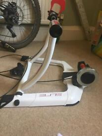 Elite Power Mag Pro Turbo trainer, with Bluetooth connector