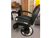 Barber Chair Full Leather Shops Man Chair Salon Hairdressing Salon Furniture Heavy Duty
