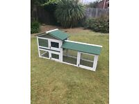 BRAND NEW 6ft Long Rabbit/Guinea pig hutch, Fully assembled