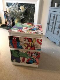 Avengers chest of drawers