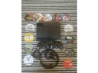 SONY Ps3 PlayStation 3 - with 28 games and 2 wireless controllers hdmi cable