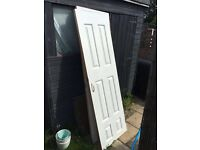 White wooden doors - free to collect