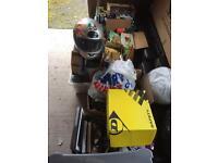 Job lot of car boot sale items furniture etc