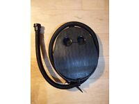 Air pump for air beds or other inflatables.