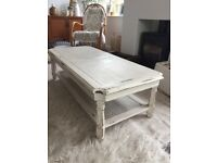 Lovely Large Shabby Chic Coffee Table