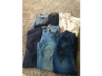 10 pairs of jeans