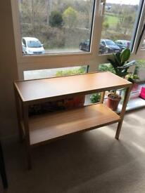 Bamboo side / console table