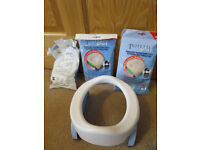 2 in 1 Potette Plus and 2 packs of potty liners