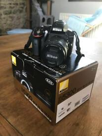 Nikon D5300 DSLR (with memory card and accessories)