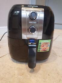 Used: Morphy Richards 480003 Health Fryer, Plastic, 1400 W, Black