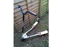 Y-shaped flicker scooter. Excellent condition. Would suit aged 6 or up.