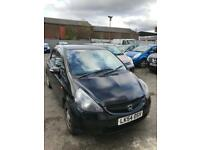 Automatic Honda jazz automatic 1.3 petrol 5 doors hatchback 5 seater family car black 2004 54 plate