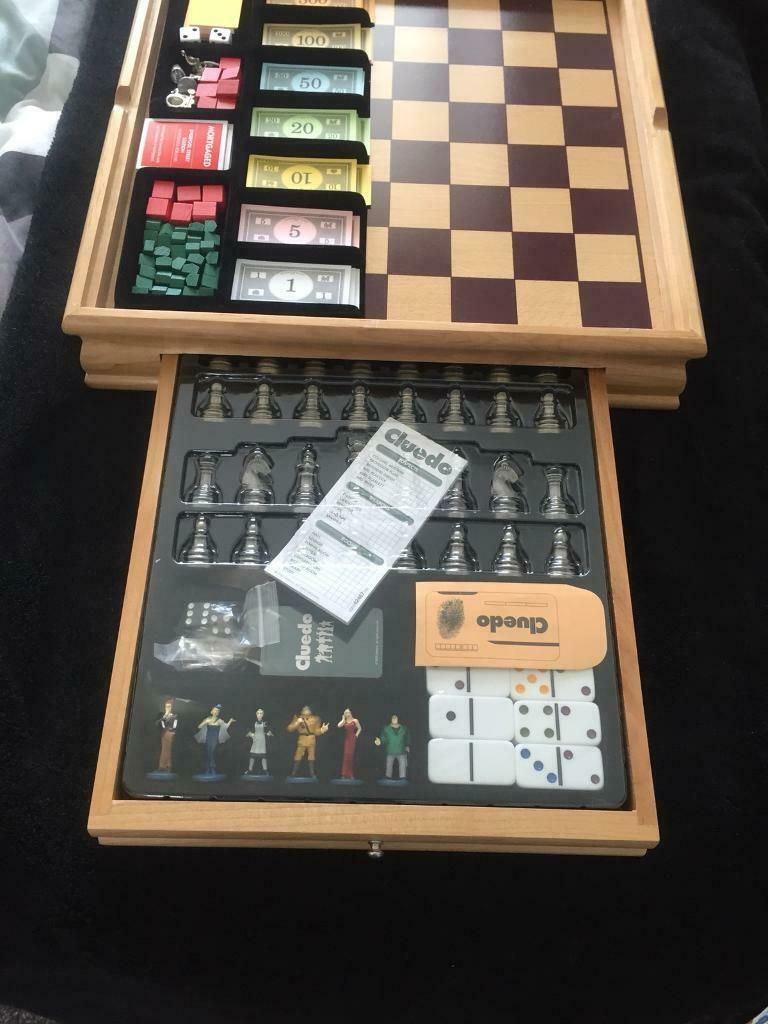 Classic Wooden Monopoly And Cluedo In Paisley Renfrewshire Gumtree