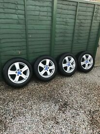 FORD 16 INCH ALLOYS WITH TYRES