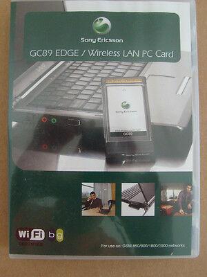 New UNLOCKED Sony Ericsson GC89 EDGE WI-FI 3G Cellular PC Card Bus PCMCIA NIP