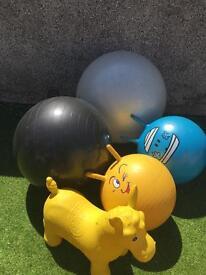 Big bouncing balls