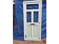 UPVC Front Door 890mm x 2045mm ref 280