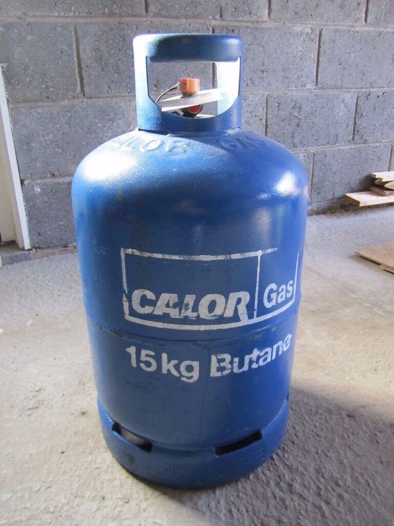 15 Kg 'empty' Calor cylinder – excellent condition.