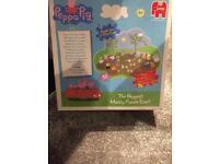 Peppa pig muddy puddle jigsaw