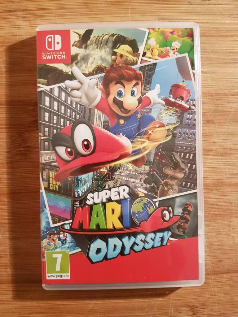 Nintendo Switch Super Mario Odyssey In Stretford Manchester Gumtree Switchsuper