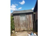 Free garden shed. Needs collecting and dismantaling
