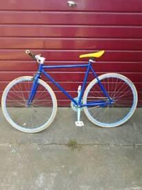 Bike - Blue/Yellow