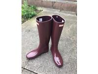 Ladies Hunter wellies size 8 brand new