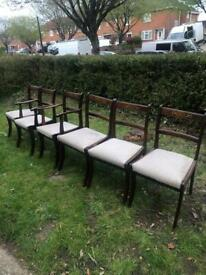 6 chairs for £10