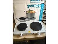 Gourmet two ring hotplate