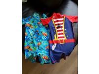 2 x boys swim suits aged 2-3y