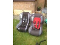 Childs car seats