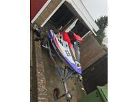 Polaris jetski not seadoo waverunner swap ktm RMZ Yz 125 250 drz r6 85 belcher gold