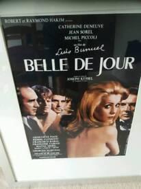 Framed Original cinema poster