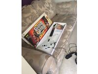 XBOX 360 Guitar Hero LEGENDS of ROCK game and guitar controller £45