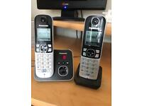 Set of 2 Panasonic house phones
