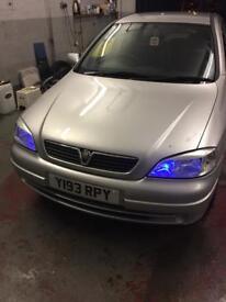 Vauxhall Astra 1.6 Petrol Manual 82000 Mileage FsH £749 ono Mot Nov 2018