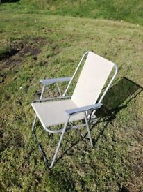 4 small folding garden/camping chairs