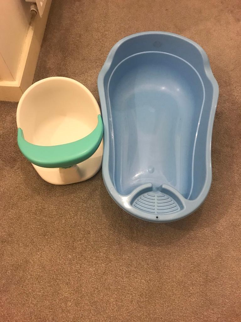 Baby bath and bath safety seat | in London | Gumtree
