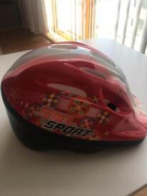 Bike helmet for girl